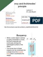 Fluids Buoyancy Lecture 3