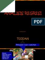 analisis regresi