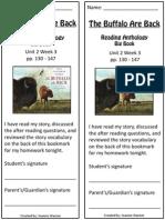 2 3 bookmark  the buffalo are back