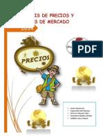 Monografia de Analisis de PRECIO Y MERCADO