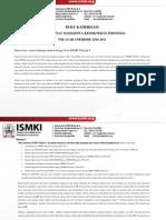 Buku Kaderisasi Ismki Wilayah 4 Periode 2010-2011