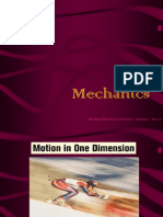 Mechanics Motion