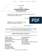 Fox v. Dish - Brief of Defendants-Appellees