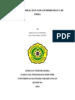 polusi mineral dan logam berbahaya di india