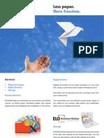 Brosura Docman en DTP