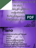 A condição da mulher em Portugal