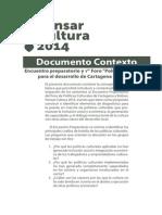Documento Contexto PensarC2014