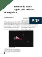 O Ator e a Mascara Videografica_Isaacson