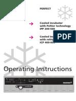 Memmert IPP_ICP Operating Instruction Manual_en
