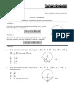 teoremas Referentes a Una Circunferencia