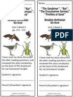 2 5 bookmark  the sandpiper bat grasshopper fireflies