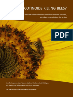 Are Neonicotinoids Killing Bees?