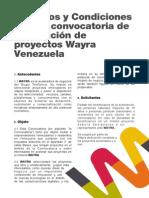 WAYRA Tc Venezuela 2012 2