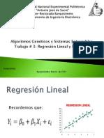 Algoritmo Regresion Lineal y No Lineal Simulación