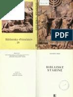 Adalbet Rebic - Biblijske Starine