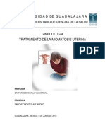 Tratamiento Miomatosis Uterina - Sanchez Montes Alejandro
