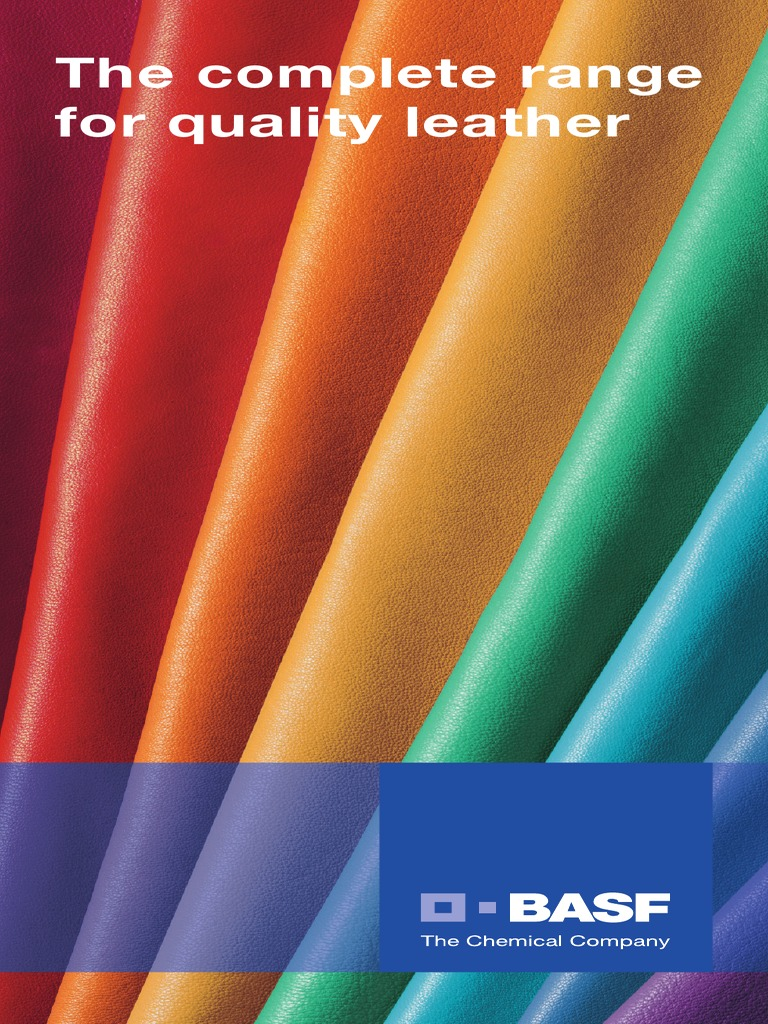 BASF Products Leather Industry-Dyes and Pigments | Leather | Dye