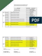 Jadwal Genap 2013-2014