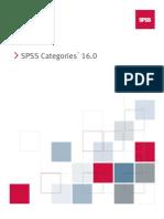SPSS Categories 16.0