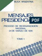 Dictadura - Discursos de Videla - 1976