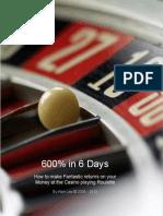 600 percent in 6days black jack system eBook