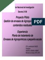 Presentacion Proyecto Piloto
