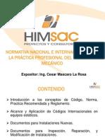 01. Ppt Normativa - Cmascaro - Himsac