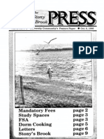 The Stony Brook Press - Volume 8, Issue 5