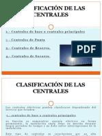 Clasificasion de Las Centrales Electricas
