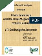 Presentación Gral Gestión de Envases de Plaguicidas