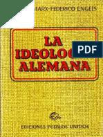 La Ideología Alemana