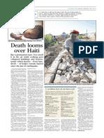 Death Looms Over Haiti
