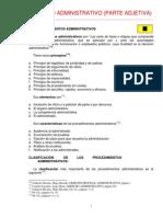 Apuntes Derecho Procesal Administrativo
