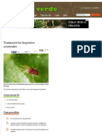 Tratament bio împotriva acarienilor | Paradis Verde