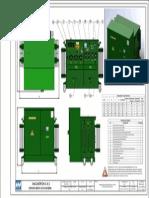Dimensiones de Transformadores Pedestal Radial 300-1000KVA