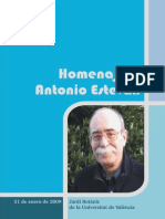 Homenaje Antonio Esteban