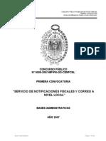 Bases Ministerio Publico Cp 008-2007