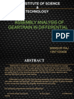 Difrential Gear Box Final p p t - Copy
