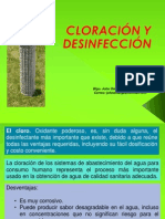6. (SABA) Cloración y Desinfeccion