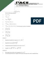 Binomial Thorem