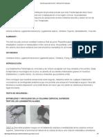 Test de Seguridad Cervical - Artículo de Fisioterapia