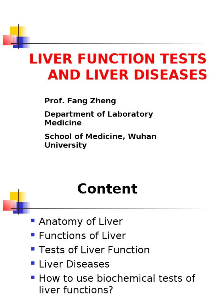 Liver Function Hepatitis Liver