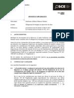 059-13 - PRE - Obligación de Designar Al Supervisor de Obra, Causal de Resolución