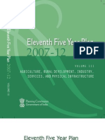 11th Five Year Plan 2007-12, India, Agriculture, Rural Development, And Industry