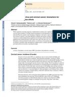 Biomarcadores de VPH