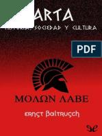 Ernst Baltrusch - Esparta , Sociedad y Cultura - Epublibre