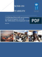 UNDP Reflections on Social Accountability