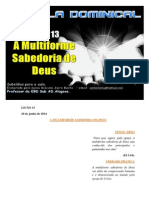 Licao 13 - Subsidio - A Multiforme Sabedoria de Deus.docx