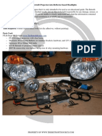 HID retrofit for Halogen headlights