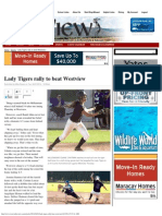 lady tigers rally to beat westview   west valley view